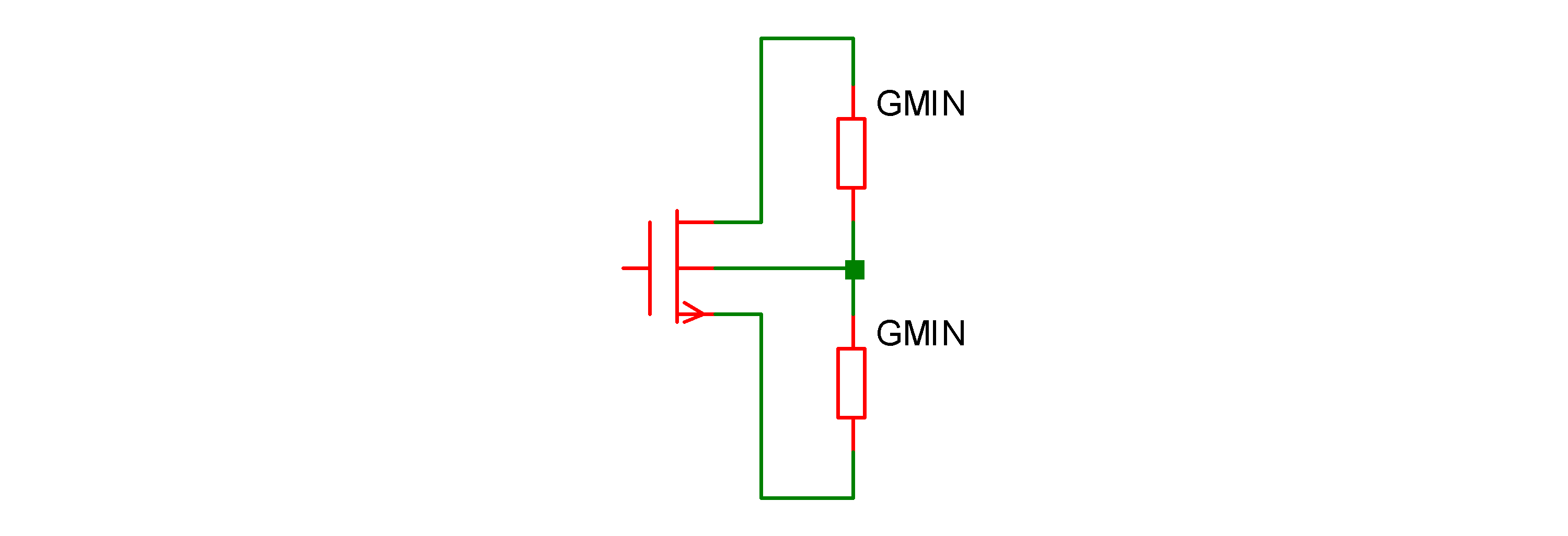 Simulator Reference: MOSFET GMIN Implementation