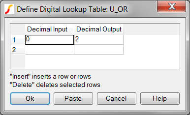 Digital lookup table dialog definition file definition urtaz Image collections