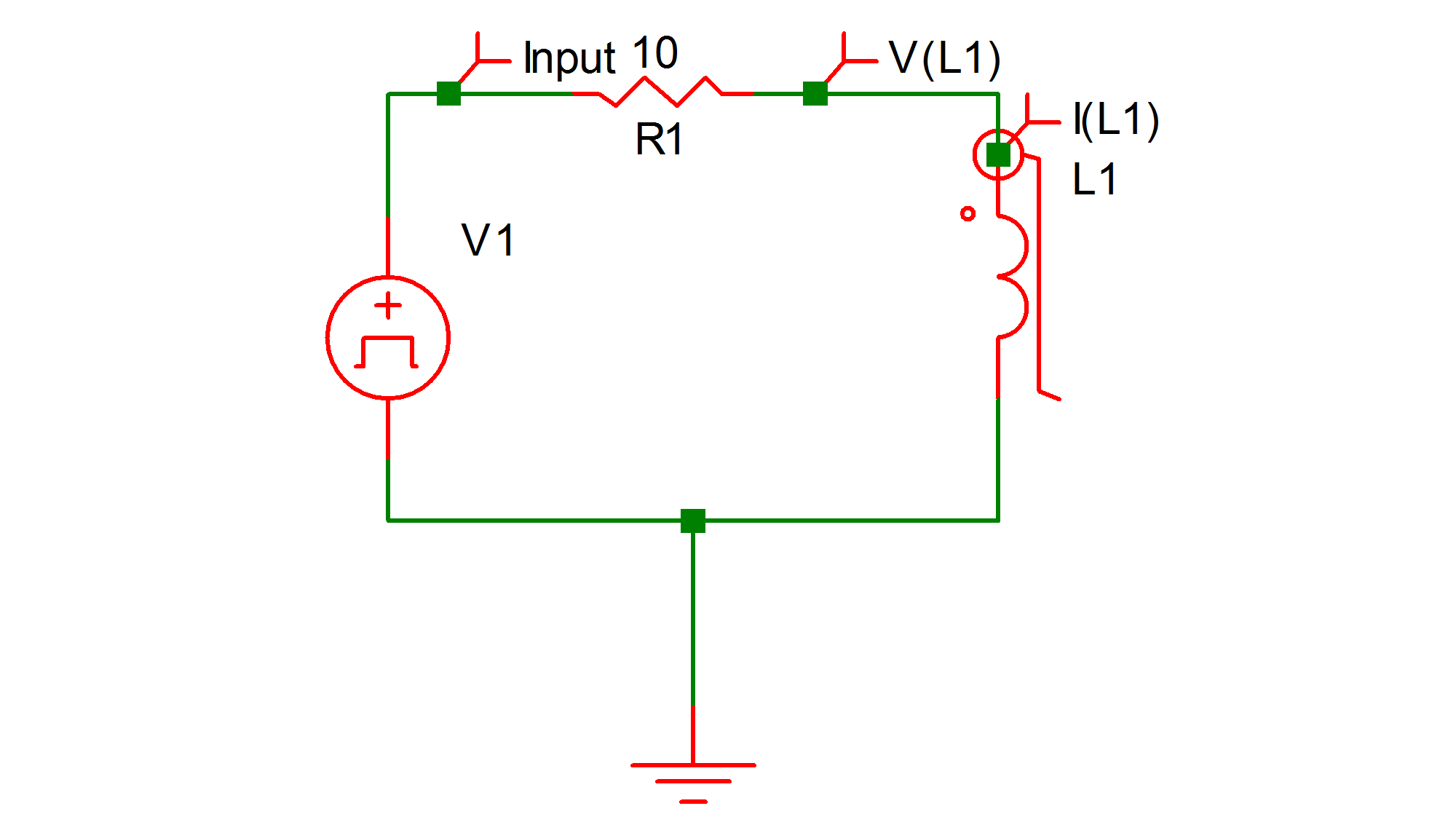 Simplis Reference Example 6 Saturable Inductor Circuits With Inductors 917a The Circuit Diagram