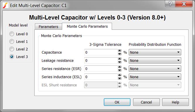 Multi-Level Capacitor Level 0-3 w/Quantity (Version 8 0+)