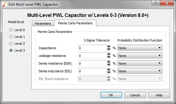 Multi-Level PWL Capacitor w/ Level 0-3 (Version 8 0+)