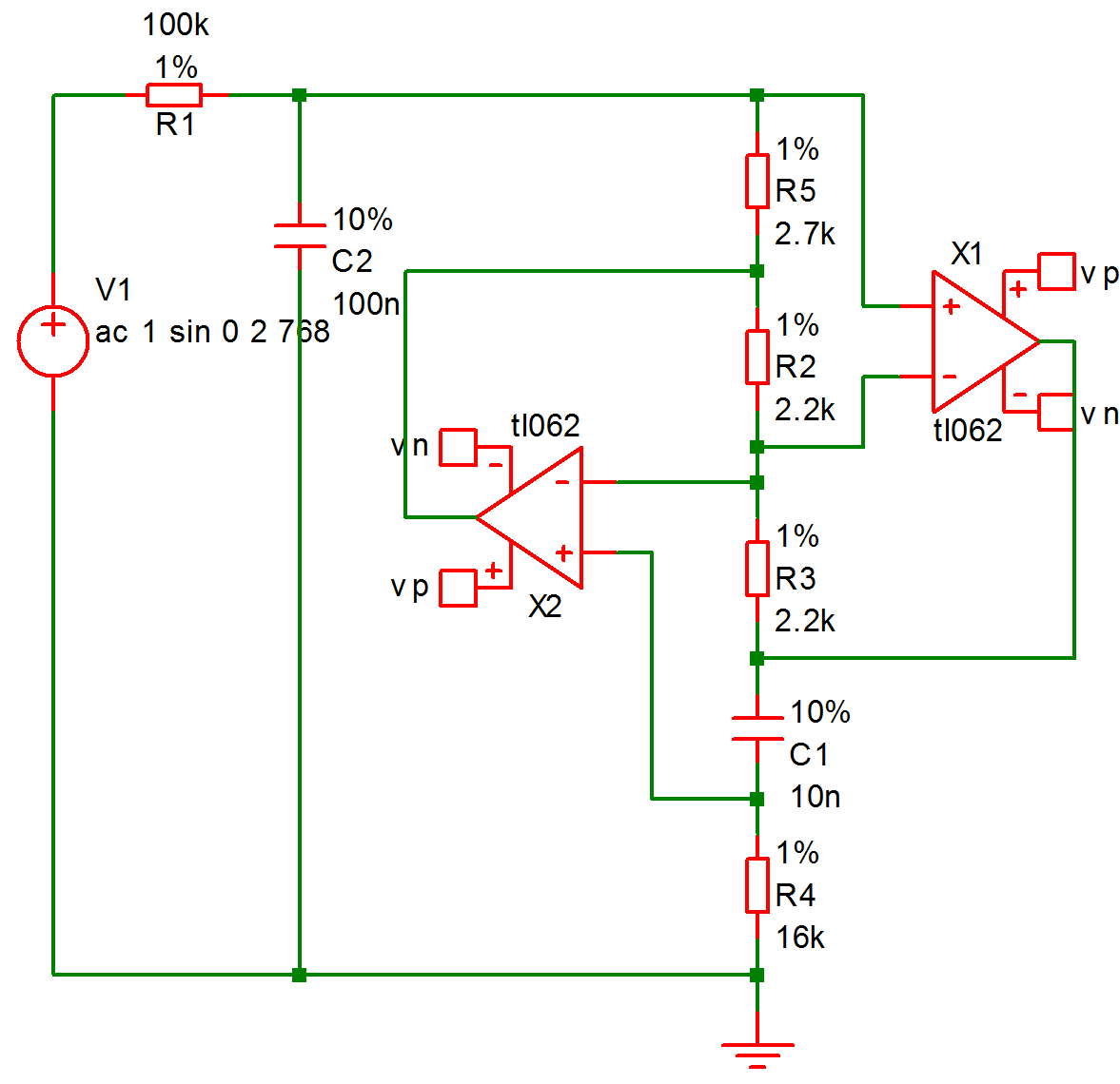 User Manual Performance Analysis And Histograms Active Double Secondary Bandpass Filter Circuit Filtercircuit This Is A Design For An Band Pass Using The Simulated Inductor Method See Examples Montecarlo 768hz Bandpasssxsch