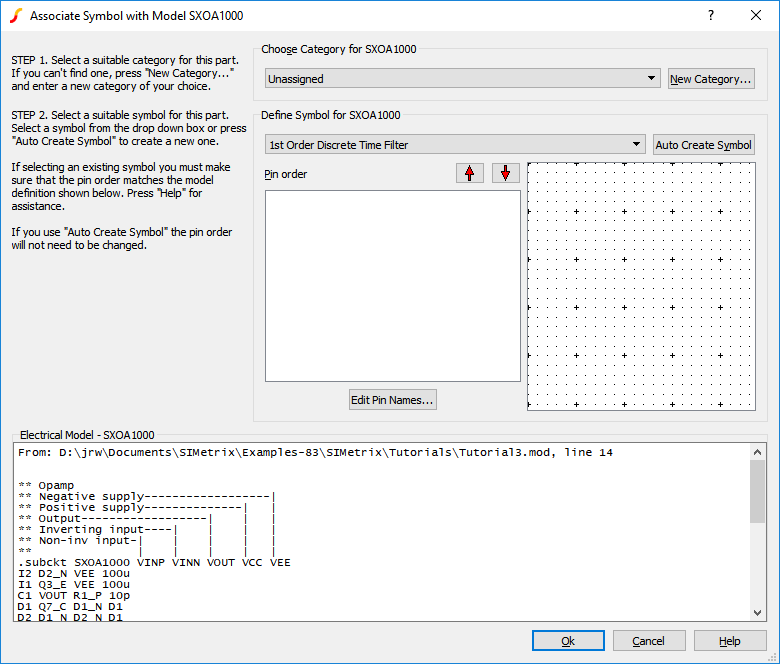User Manual: Tutorial 3 - Installing Third Party Models